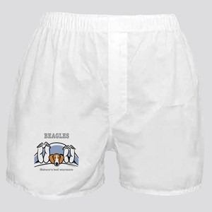 Beagle bed warmers Boxer Shorts
